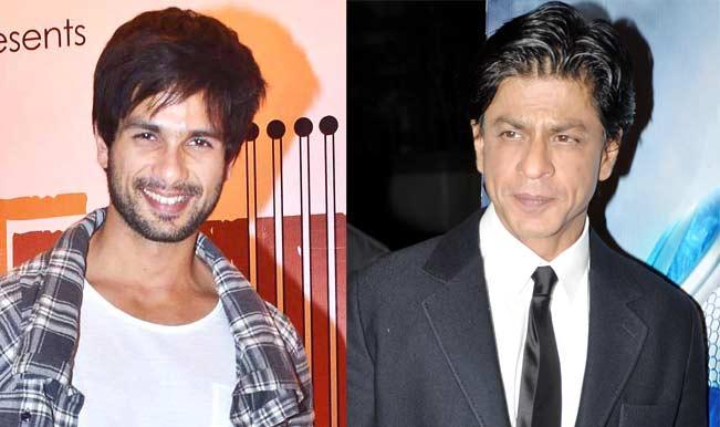 Shahrukh Khan and Shahid Kapoor