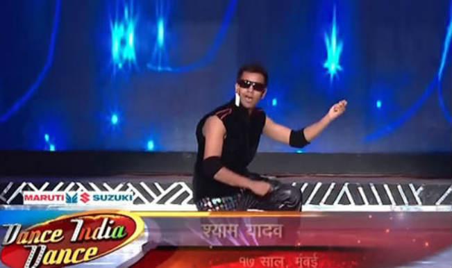 shyam yadav on dance india dance 4