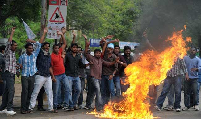Telangana movement