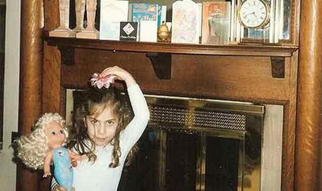 Lady Gaga Childhood pic