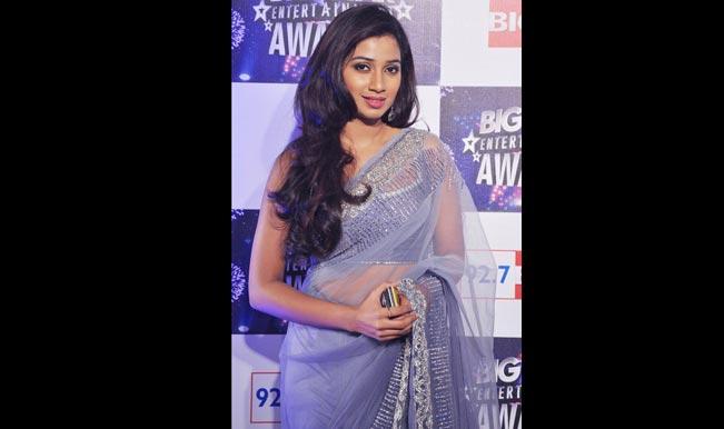 Shreya Ghoshal at BIG Star Awards 2011