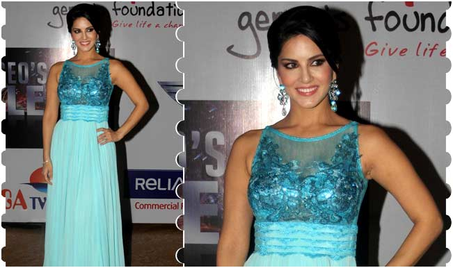 Sunny Leone at Colors' CEO's Got Talent