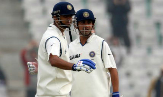 Rahul Dravid and Gautam Gambhir 314 run partnership against England in Mohali Test, 2008