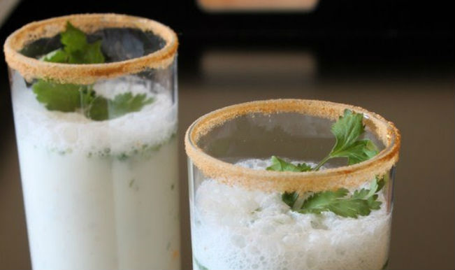A glass of chilled buttermilk can be refreshing