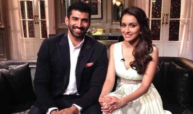 Koffee with Karan 4: Aditya Roy Kapur confesses his love for Shraddha Kapoor