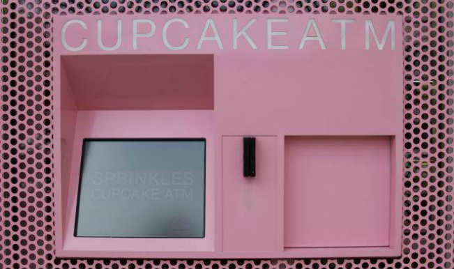 Cupcake atm in New York