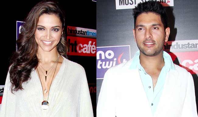 Exclusive: Deepika Padukone hugs ex-boyfriend Yuvraj Singh in public!