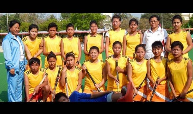 Hockey Junior Manipur women's team