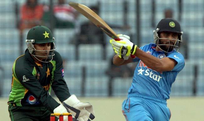 Indian-batsman-Ravindra-Jadeja-in-action-during-the-6th-ODI