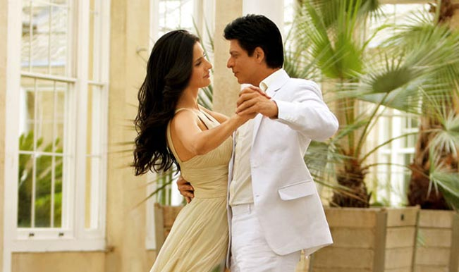 Katrina Kaif and Shahrukh Khan in Jab Tak Hai Jaan