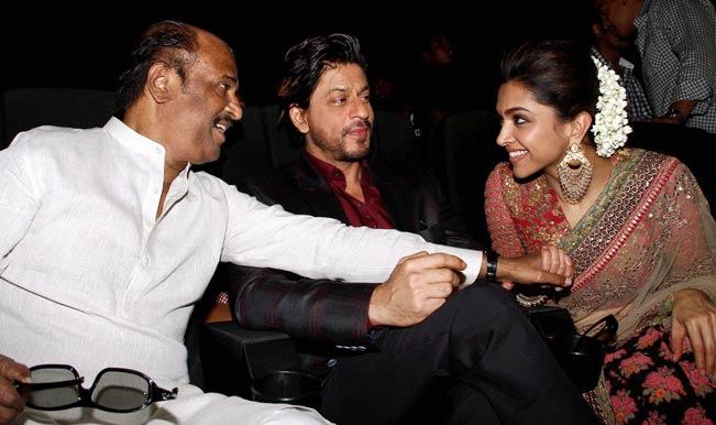 Shahrukh Khan, Rajinikanth, Deepika Padukone release Kochadaiiyan music