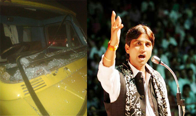 Lok Sabha Elections 2014: Kumar Vishwas's motorcade attacked in Amethi, blames Congress