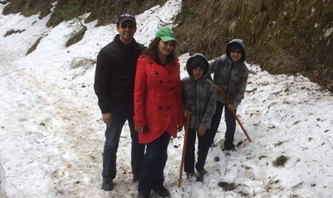 Madhuri Dixit-Nene goes trekking to Shimla after Gulaab Gang disaster!