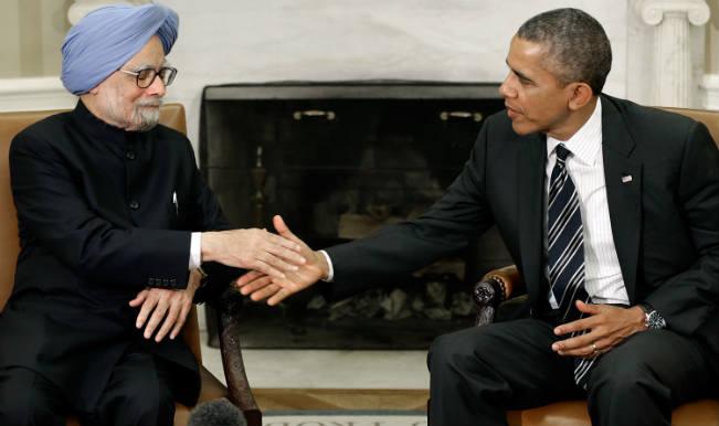Manmohan and Barack Obama