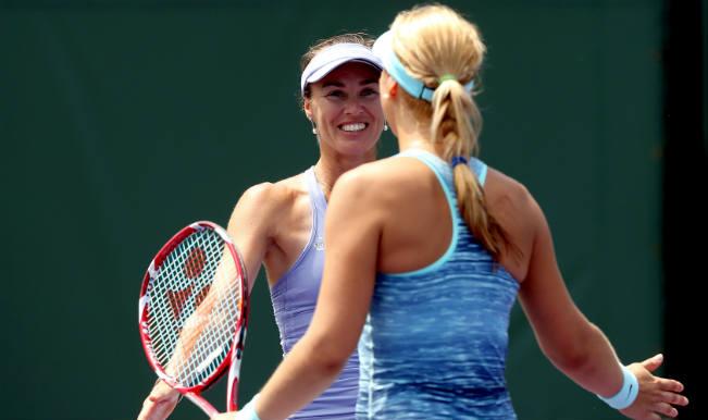 Martina Hingis and Sabine Lisicki
