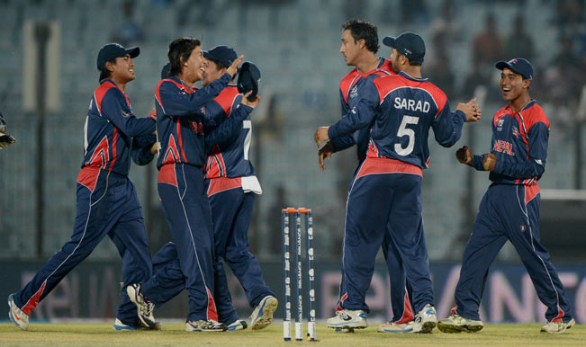Nepal-cricketers-celebrate-after-the-dismissal-of-Hong-Kong-1