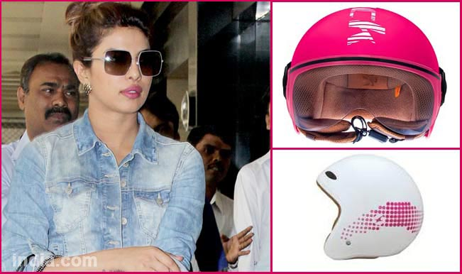Priyanka Chopra - bike accessories
