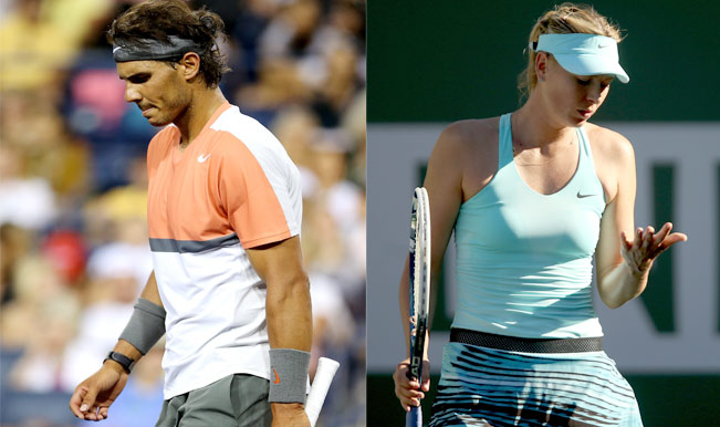 Defending champions Maria Sharapova and Rafael Nadal knocked out of Indian Wells