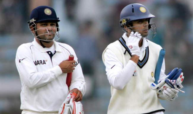 Rahul Dravid and Virender Sehwag 410 run partnership against Pakistan in Lahore Test, 2006