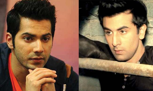 Varun Dhawan and Ranbir Kapoor