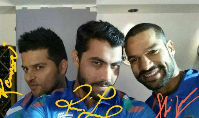 Ravindra Jadeja selfie
