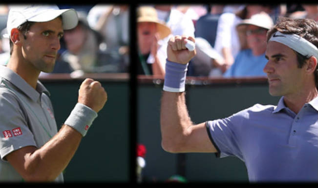 Rivals Roger Federer and Novak Novak set up an exciting Indian Wells finals clash