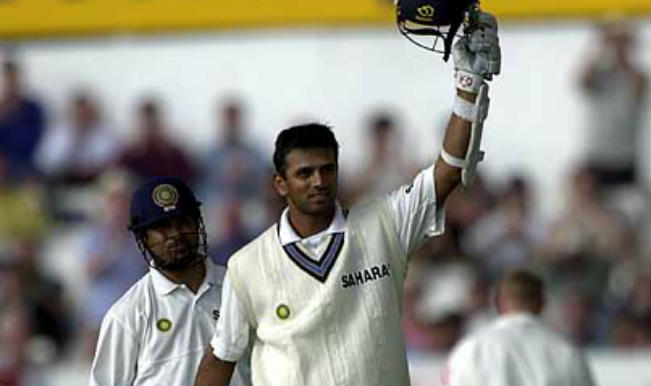 Rahul Dravid and Sachin Tendulkar 150 run partnership against England in Headingley Test, 2002
