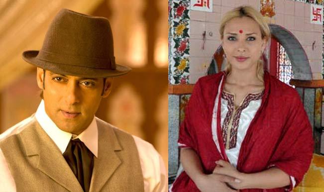 Salman Khan and Iulia Vantur