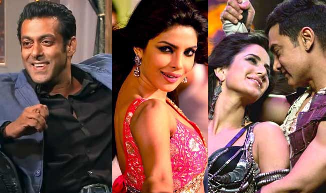 Salman Khan, Priyanka Chopra, Aamir Khan and Katrina Kaif