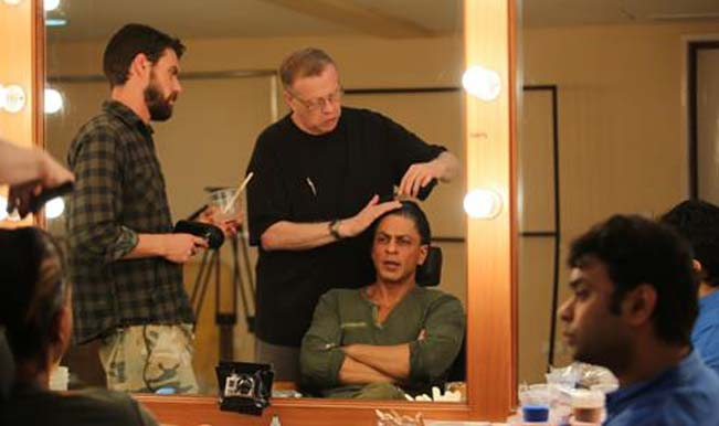 Shahrukh Khan's look for 'FAN' designed by 'Dracula' makeup artist