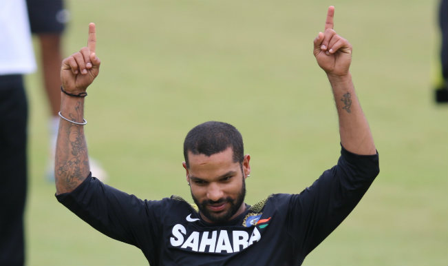 IPL 7: Shikhar Dhawan replaces Kumar Sangakkara as Sunrisers Hyderabad's new captain