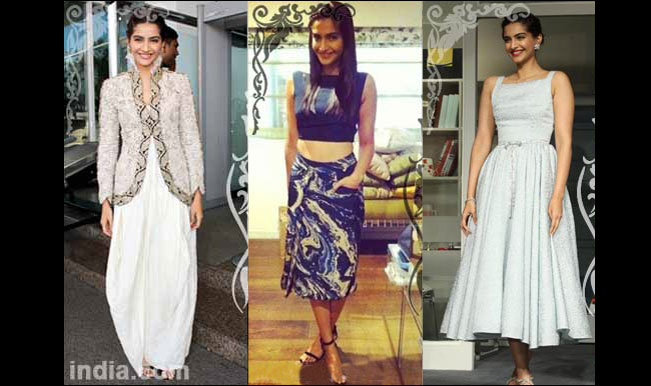Sonam Kapoor's Top 5 glam avatars during 'Bewakoofiyaan' promotions