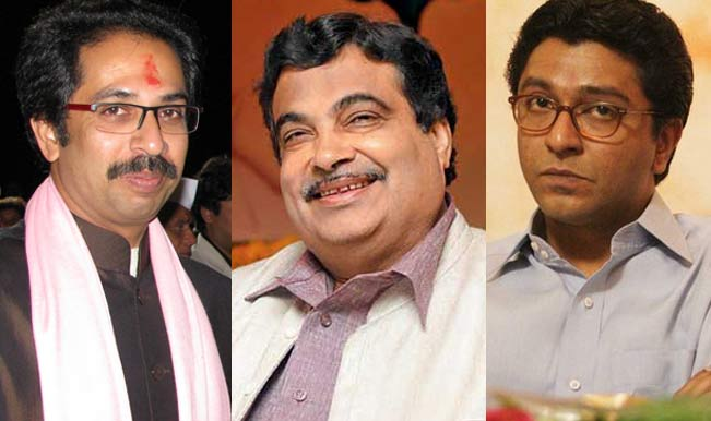 uddhav-thackeray-nitin-gadkari-raj-thackeray