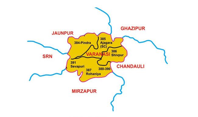 Varanasi-Map