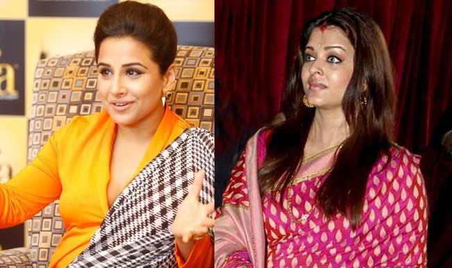 Vidya Balan follows Aishwarya Rai Bachchan - hides baby bump in reams of cloth!