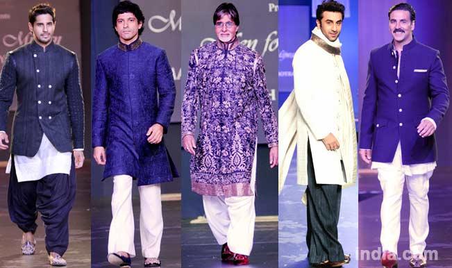 Amitabh Bachchan, Ranbir Kapoor, Farhan Akhtar, Sidharth Malhotra & Akshay Kumar sizzle on the ramp!