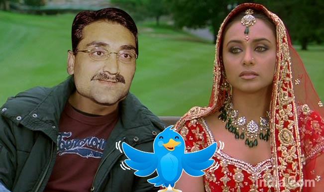 Aditya Chopra hitched to Rani Mukerji: Its a laugh riot on twitter!