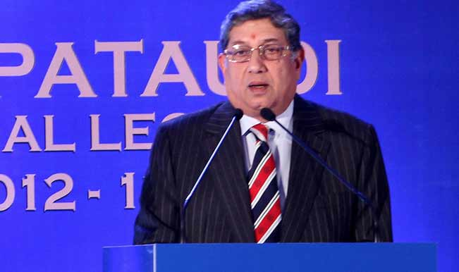 BCCI-President-N-Srinivasan-delivering-his-address-at-the-inaugural-Mansoor-Ali-Khan