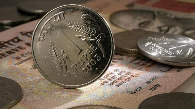 Rupee down 4 paise against dollar in early trade