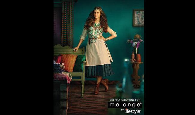 Deepika Padukone roped in as Melange by Lifestyle brand ambassador