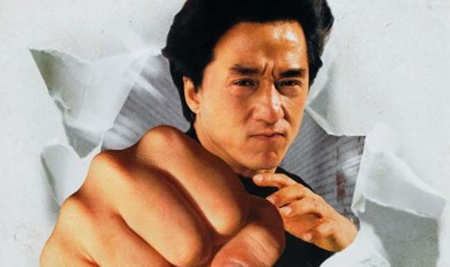 Jackie Chan in The Legend of Drunken Master
