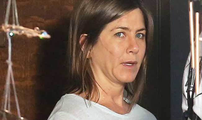 Jennifer Aniston goes scar-faced for her film Cake: See pic