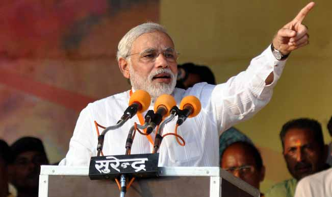 Narendra Modi hits out at Congress for insulting Narasimha Rao