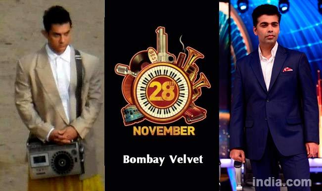 Aamir Khan in PK, Bombay Velvet poster and Karan Johar
