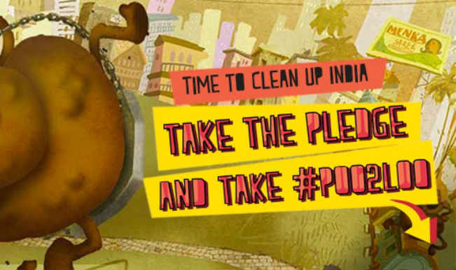 Take the poo to the Loo : The UNICEF campaign to make our nation a cleaner and sanitized place
