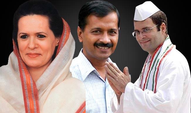 Sonia Gandhi, Rahul Gandhi and Arvind Kejriwal vote in Delhi