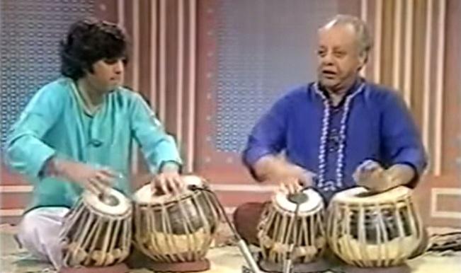 Watch: Ustad Alla Rakha and Ustad Zakir Hussain tabla performance for BBC