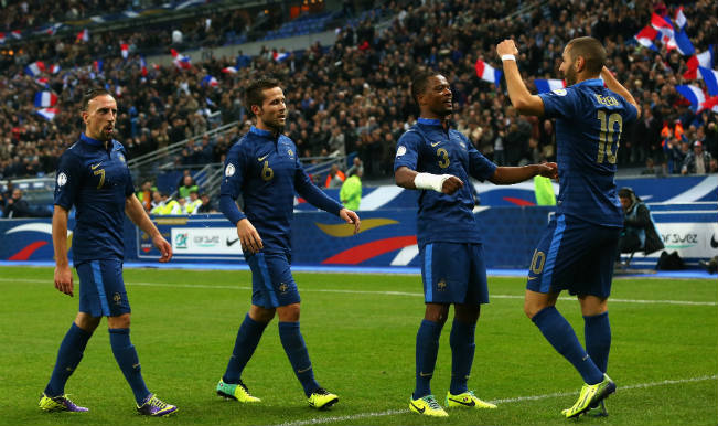 France World Cup Squad 2014 Fifa World Cup 2014 Football Team Player List India Com