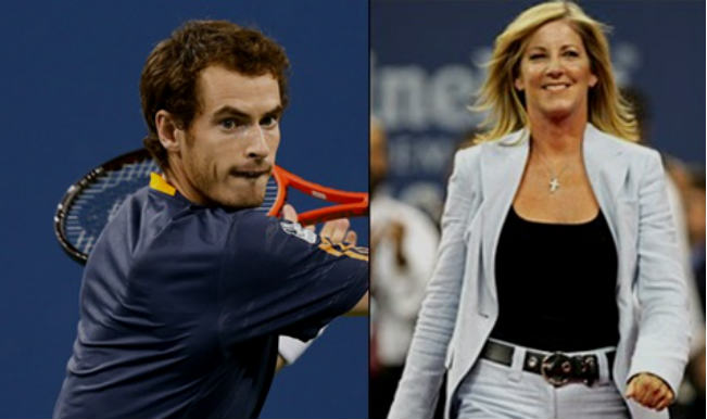 Andy Murray_Chris Evert