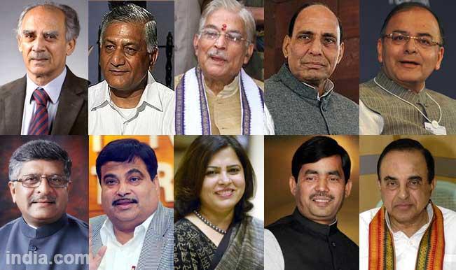 Arun-Shourie-Ravi-Shankar-prasad-Meenakshi-Lekhi-Shahnawaz-Hussain